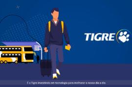 Criação de vídeo apresentação - Tigre